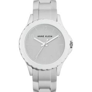 Anne Klien White Silicone Watch